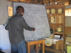Ba Golden, the most fun, enthusiastic Bemba teacher you could ask for.