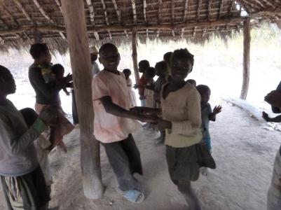 "Boyd and Mavis contra dancing at my ""American Culture"" day in Mfuba."
