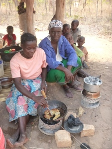 Ba Mary and Ba Marita lifted my spirits by enthusiastically helping me teach other village women how to make soya cake and banana-soya biscuits!