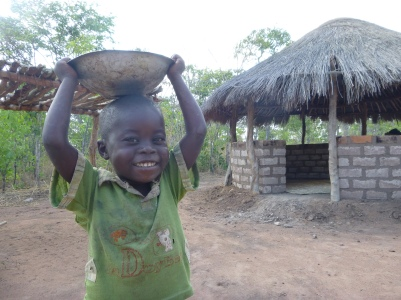 Images of life in and around Mfuba Village.