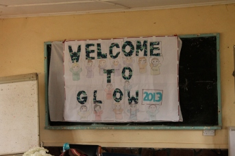 Images from Camp GLOW (Girls Leading Our World), a Peace-Corps-sponsored gathering of young women that we all hope will become leaders in their communities. All photos courtesy Clara Paik.