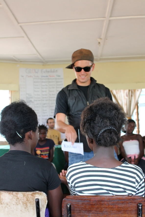 PCV Mike acting as a sugar daddy. On those slips of paper he gave out 10 kwacha, or sweeties, or talk time - along with STIs and pregnancies.