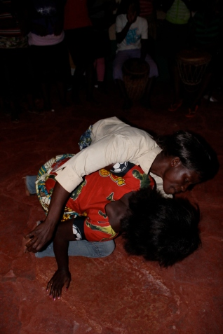 That evening, our village counterparts decided to bust out the drums and dance moves to teach the girls about sex in their own way. Whoa. Ba Monica and Ba Agness were way more explicit than the muzungus!