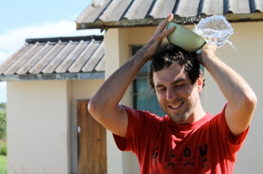 "PCV Brad losing his team's water. Maybe it was inevitable: their name was simply ""Fire."""