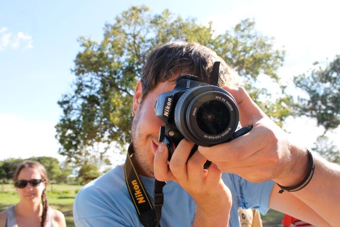 Logan, photographer extraordinaire and Blue Eagles member.