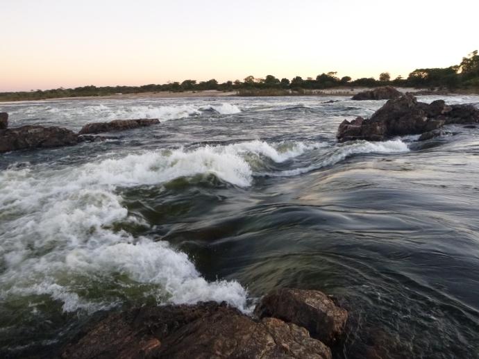 Zambezi waters at Chavuma.
