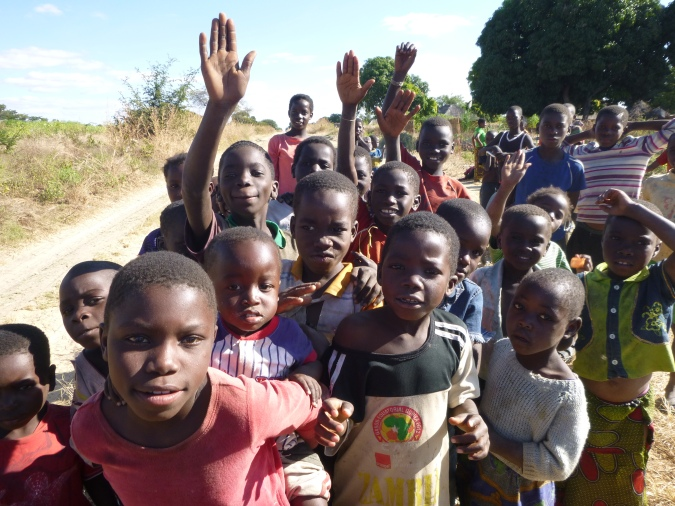 Ah, the joys of sharing the camera with Zambian kids.