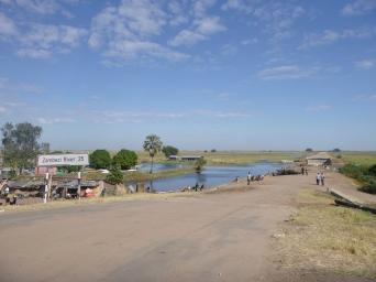 Where Mongu and the Zambezi floodplain meet - 25 kilometers from the river's main channel.
