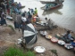 Fish traders on the shores of Lake Tanganyika.