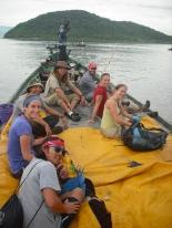 A PCV adventure on a fishing boat across Lake Tanganyika to the Kalambo River.