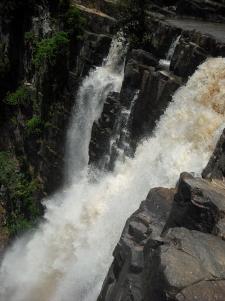 Brink of Kalambo Falls.