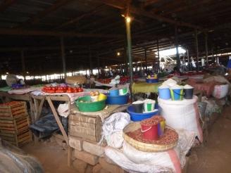 The market in Mwinilunga.