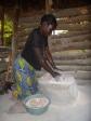 "Ba Deria, grinding millet. That's ""ukupela amale,"" in Bemba."