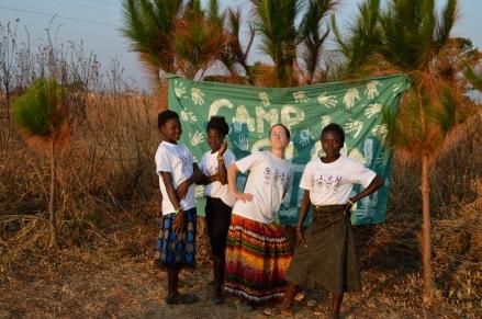 Mfuba! Mwango, Mwape, me, and Chola.