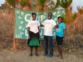 Three of our four amazing Zambian facilitators. Left to right: Agness, Zebron, and Maggie. Sadly, Nancy had to leave before the photo was taken.
