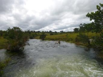 River near Erica's village, Ipusukilo.