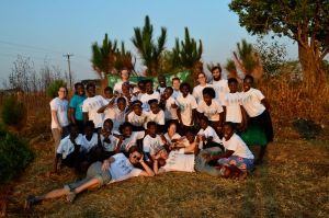 Images from Luwingu Camp GLOW (Girls Leading Our World).