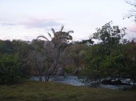Campsite along the Mansha River.