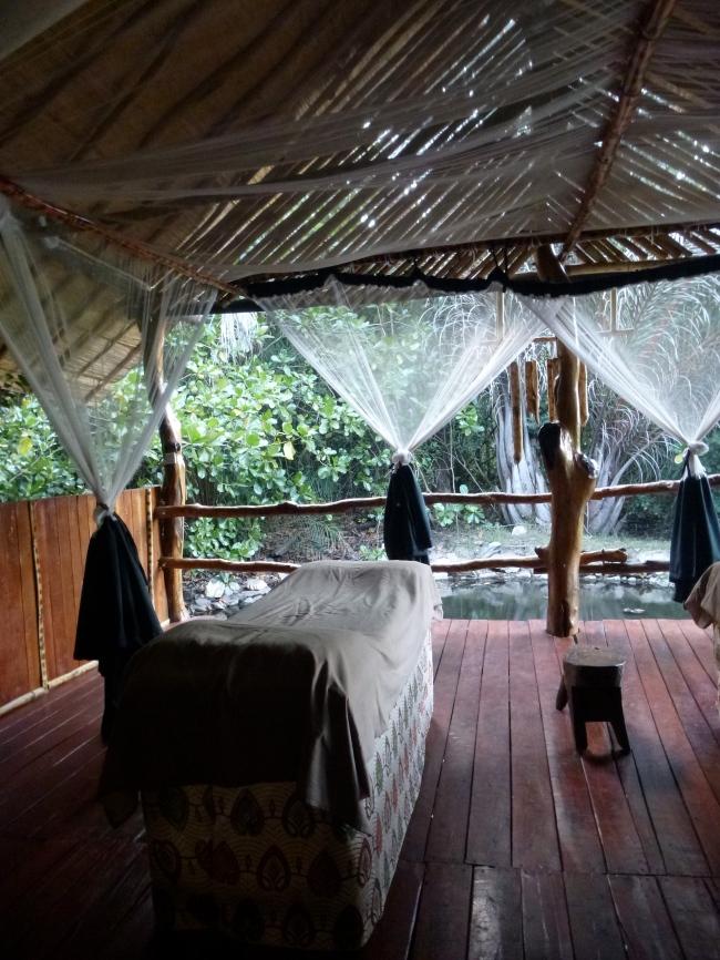 The spot where I got an amazing massage.