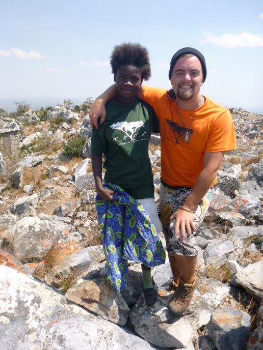 Cynthia specifically requested that I take her photo with Cody at the top of the mountain. Awwww ...