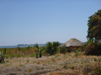 First views of the network of lakes that make up the Lake Bangweulu floodplains.