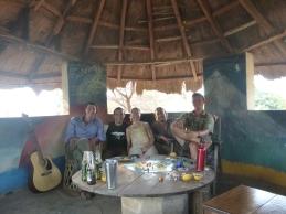 Me and my favorite guys in Zambia: Samwell, Zach, Jacob, and Adam.