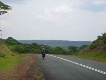 Ryeon on the way to Intumbachushi Falls.