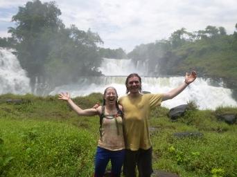 Me and Adam at Kabweluma Falls.