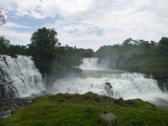 Most of Kabweluma Falls. There was so much going on, it was hard to get it all in one photo.