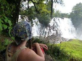 Me at Kabweluma Falls.