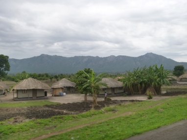 Homes were much the same, but the landscape of Malawi beat that of Northern Zambia hands-down!