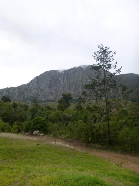 View from the Chambe Peak Hut.