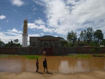 Beautiful mosque. Unlike Zambia, Malawi has a sizable Muslim population.