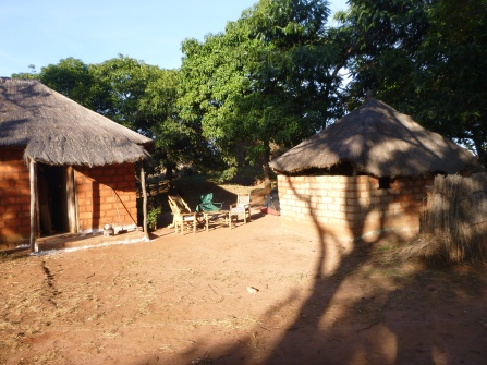 Katie's house, outside Mwinilungu in Northwestern Province.