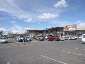 Where the rich Zambians hang out - at Lusaka's fourth - and newest mall.